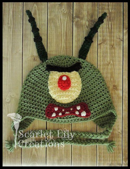 Ravelry: Plankton Crochet Hat pattern by Jamie Huisman - free ...