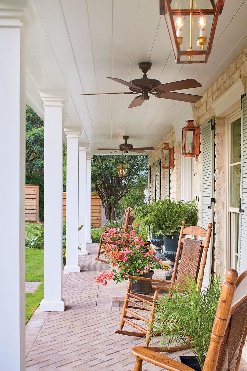 Our Biggest Before And After Of All Time Country Farmhouse Decor House With Porch Southern Living Homes