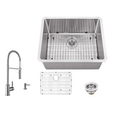 IPT Sink Company 16 Gauge Stainless Steel 23\