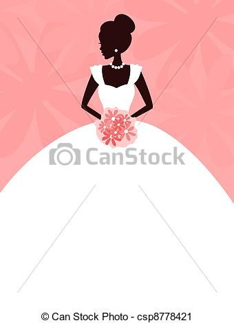 Bridal Gown Illustrations And Clip Art 1 330 Bridal Gown