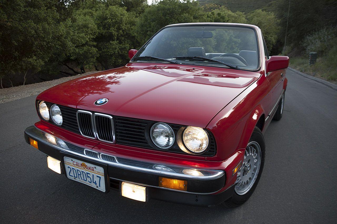 Red Convible Top Bmw Fs Socal 1987 Bmw 325i Convertible Red Black 3600 Stanceworks Bmw Bmw Convertible Bmw E30 Cabrio