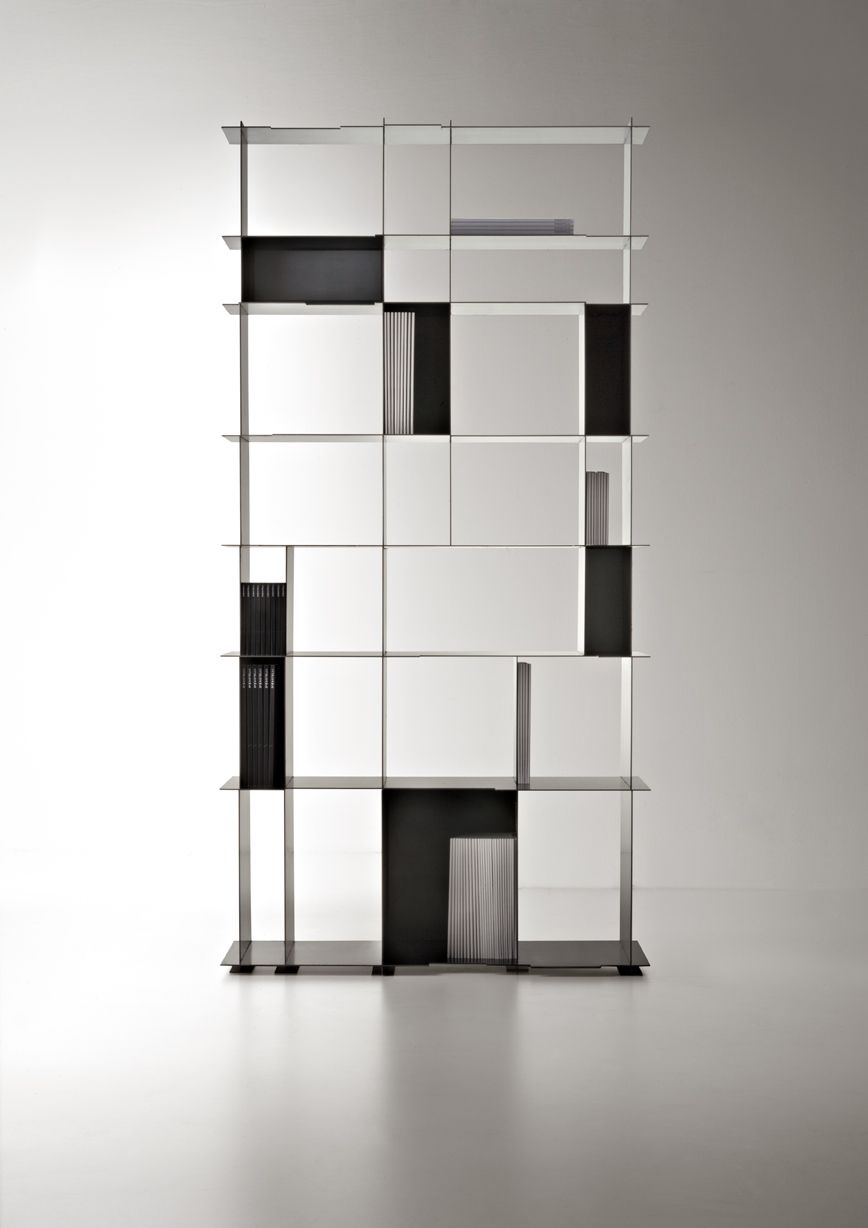 Nippon iron bookcase 2013 for de castelli cornuda tv by alberto nason magazen novo in - Libri design interni ...