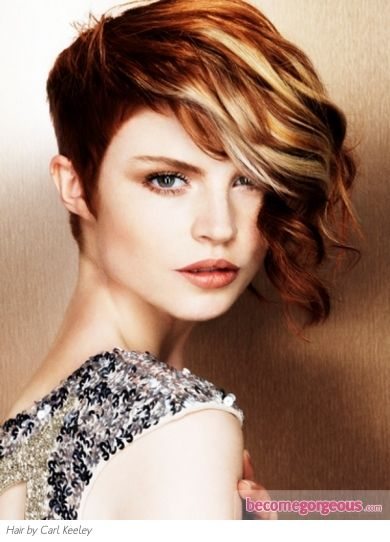 Incredible 1000 Images About Asymmetric On Pinterest Short Hairstyles Gunalazisus