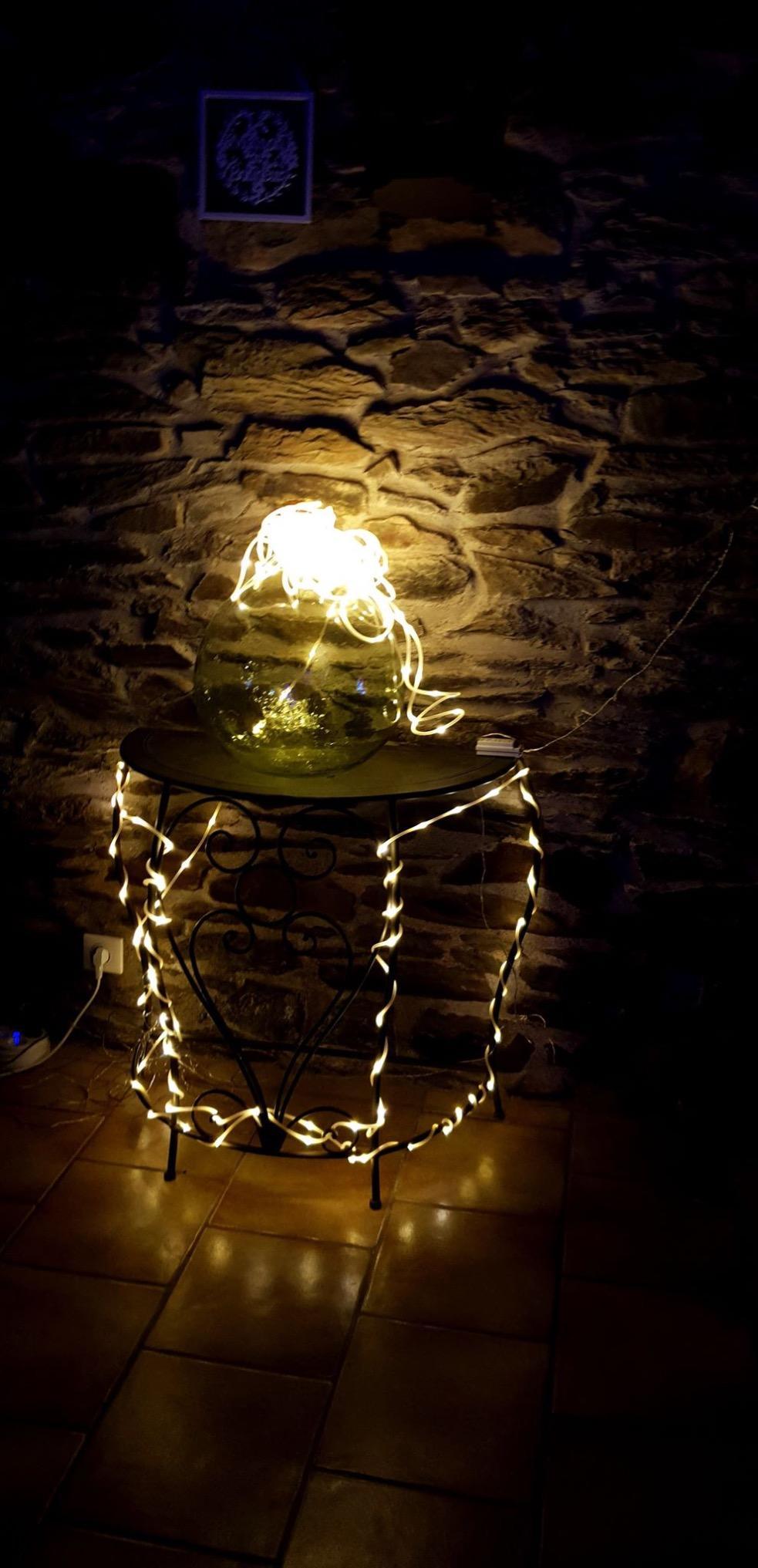 Lampe Exterieur Pour Tonnelle onforu 20m guirlande tube extérieur tonnelle réglables par