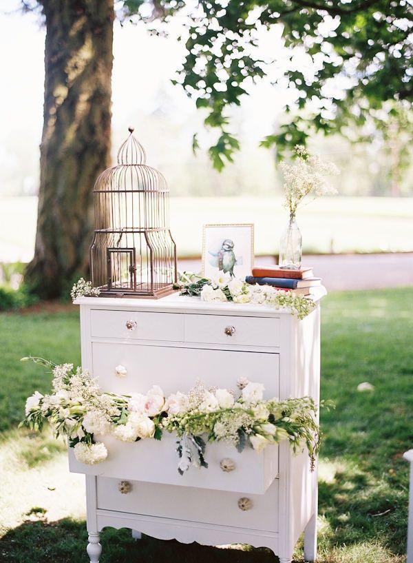 Garden wedding Glamtiqued Vintage DecorVintage