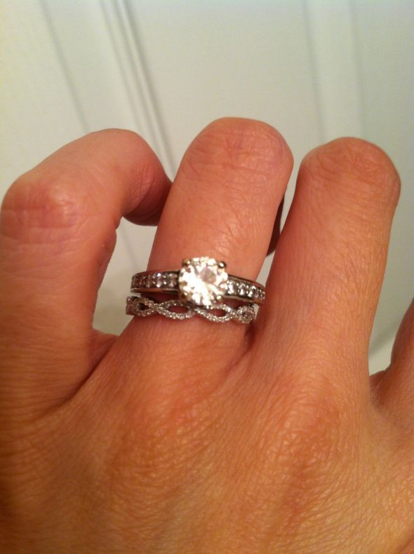 Show Me Your Mismatched E Ring And Band!!   Weddingbee | Page 12