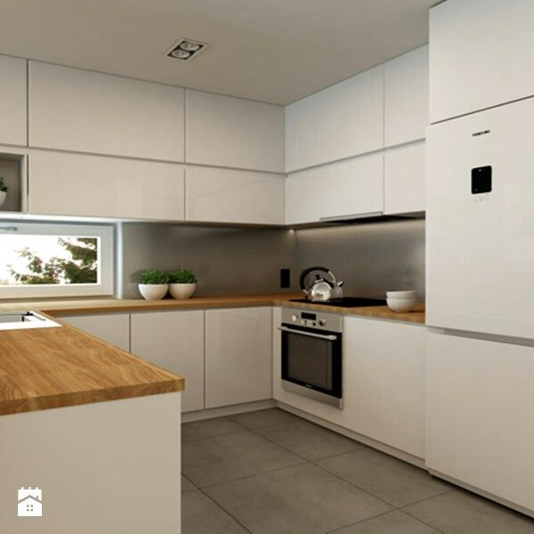 Λευκές κουζίνες, Διακόσμηση