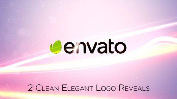 Clean Elegant Logo Reveal Apple Motion Templates Pinterest