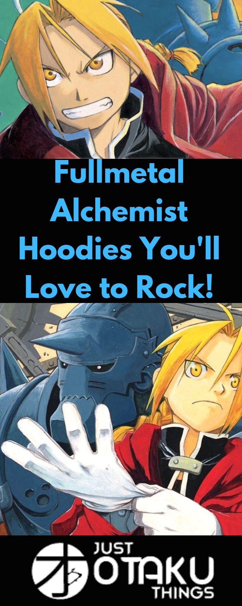 Get Ready to Look Fresh in these Fullmetal Alchemist