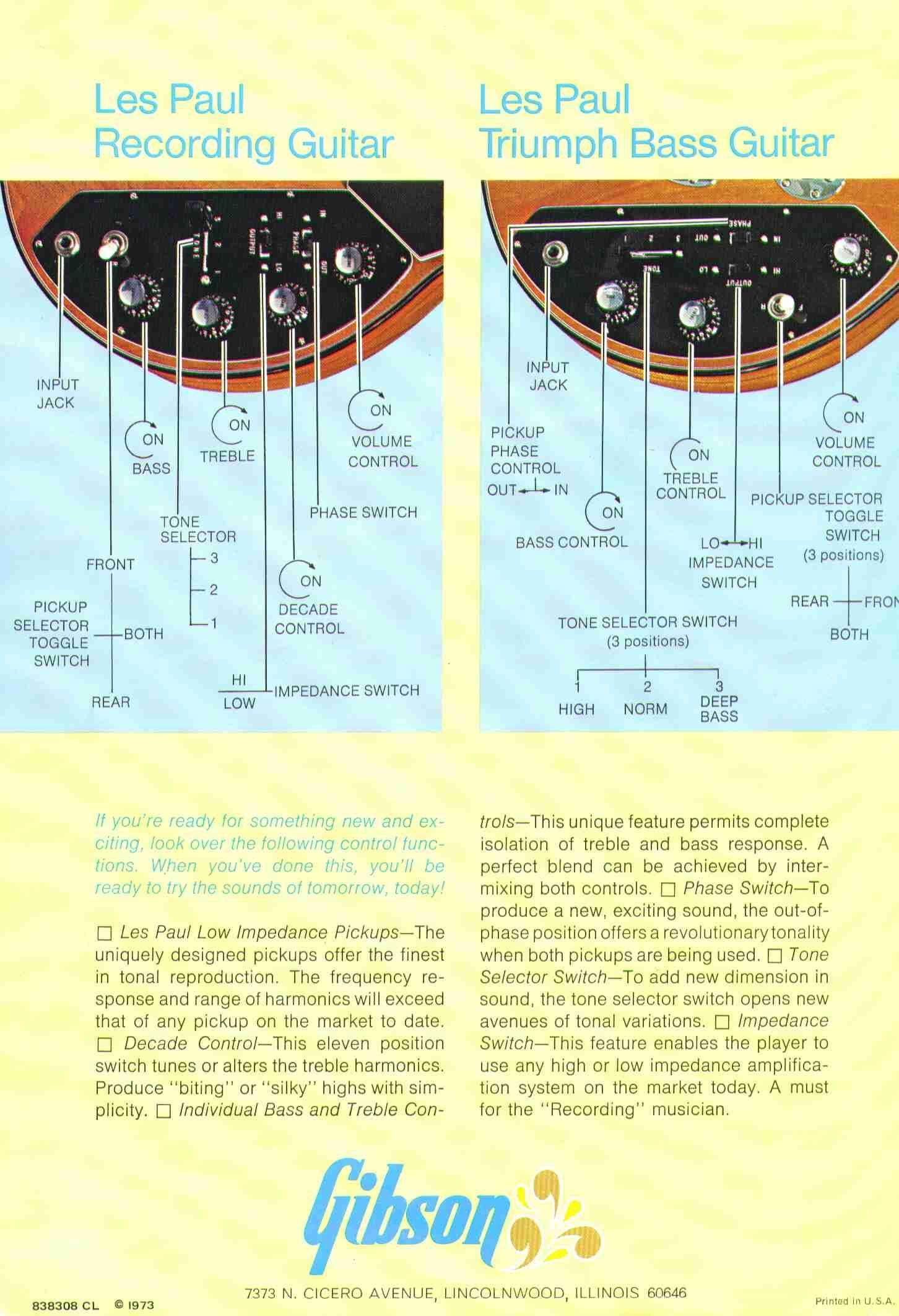 gibson les paul recording wiring diagram 2 lights double switch library