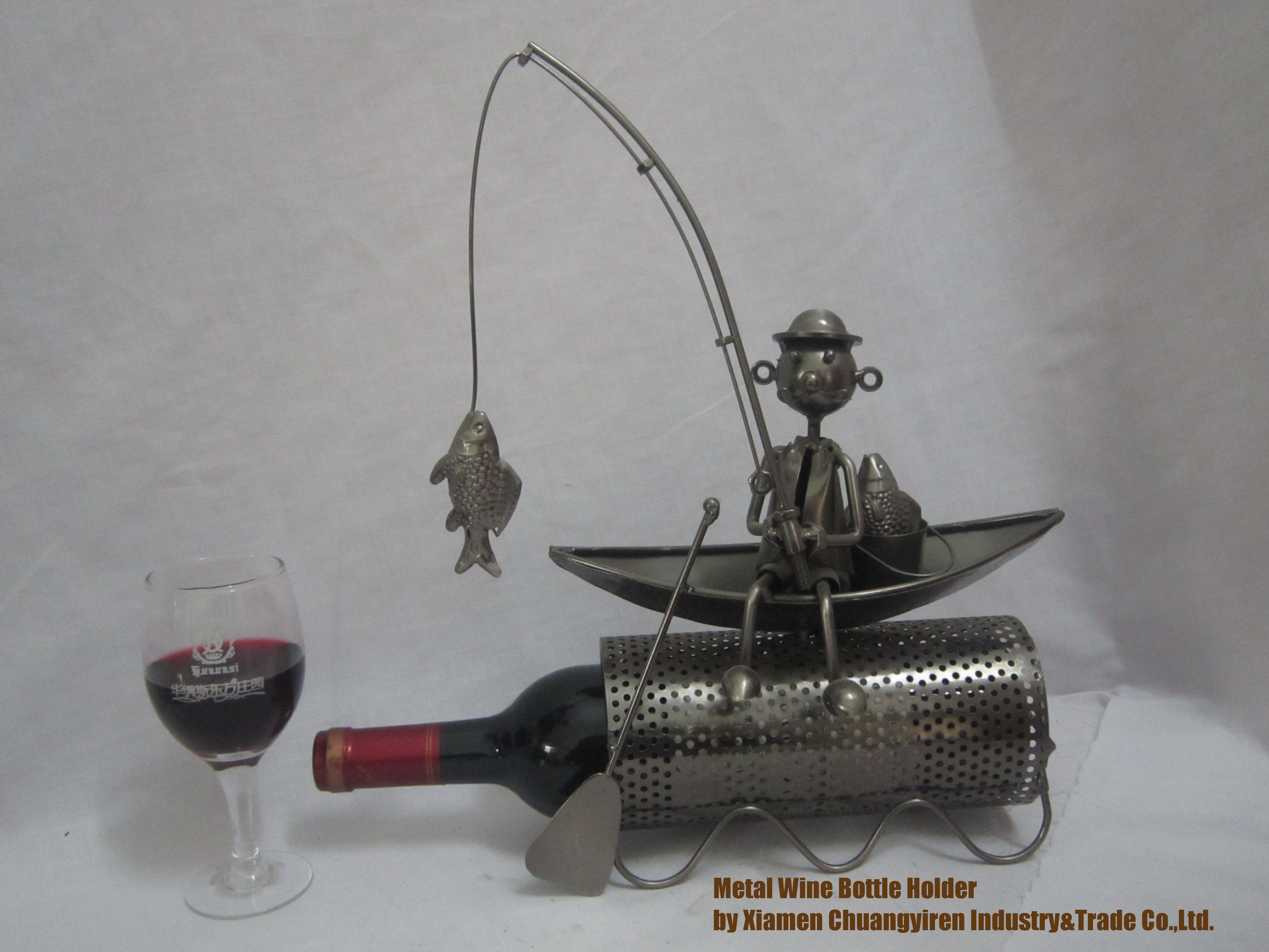 Fishing/fisherman/Airplane/fighter/battleplane/wine Caddy