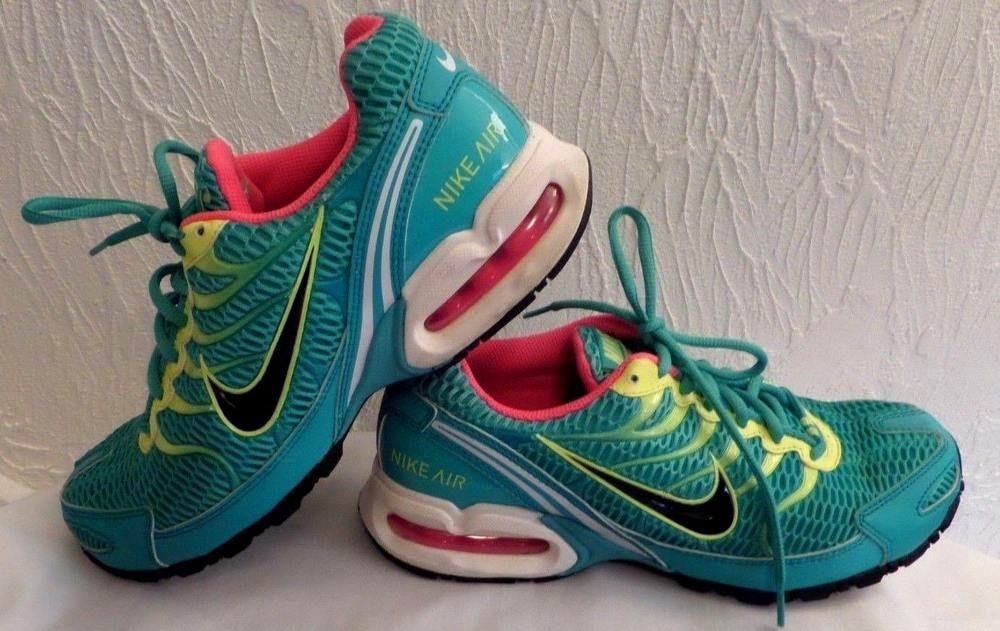 67a47198f05 Nike Air Max Torch 4 Womens 343851-376 Hyper Jade Hyper Pink Running Shoes  Sz 9  Nike  RunningShoes