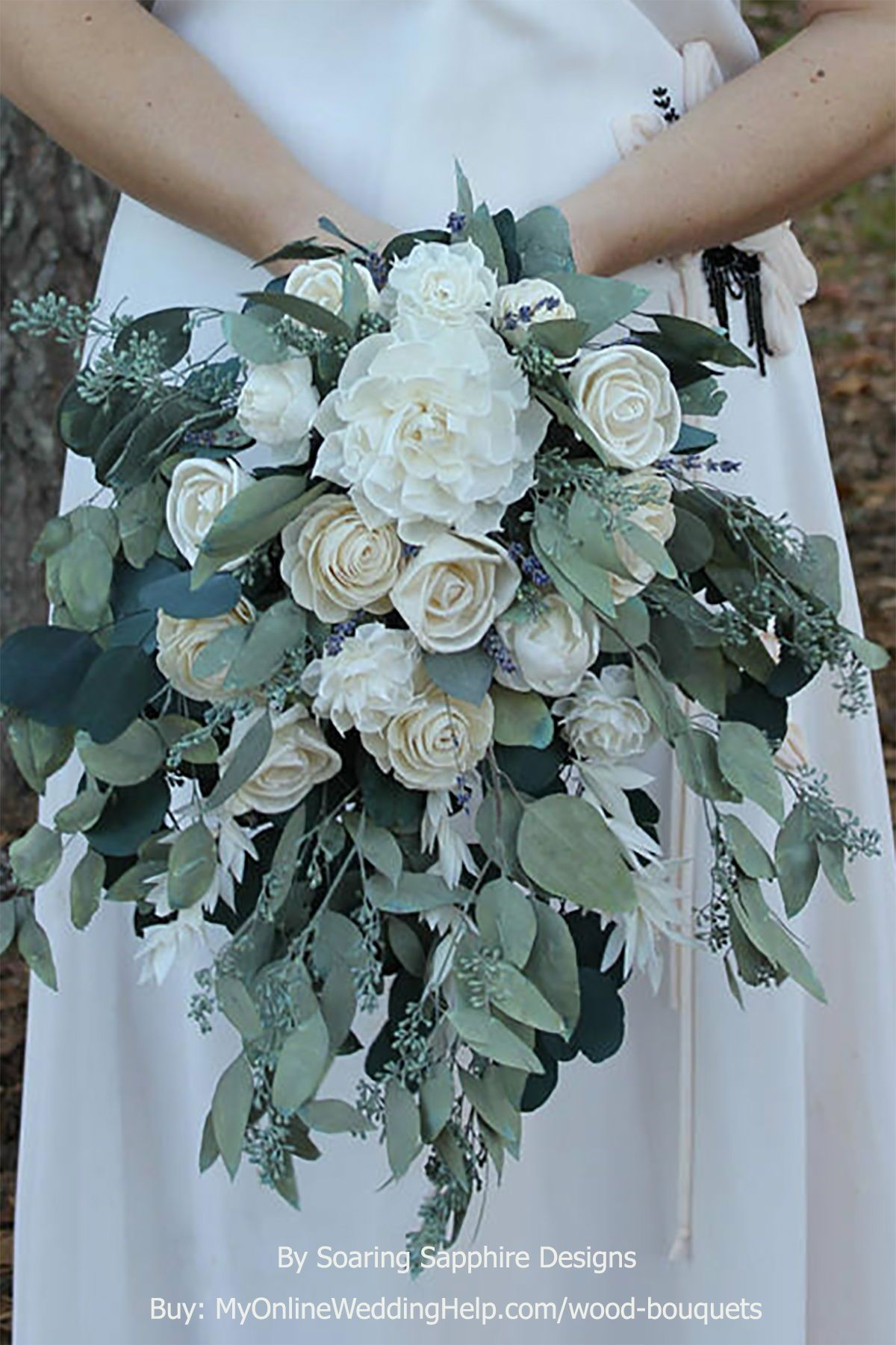 Wood Sola Flower Bouquets Page 1 Of 1 In 2020 Wedding Flower