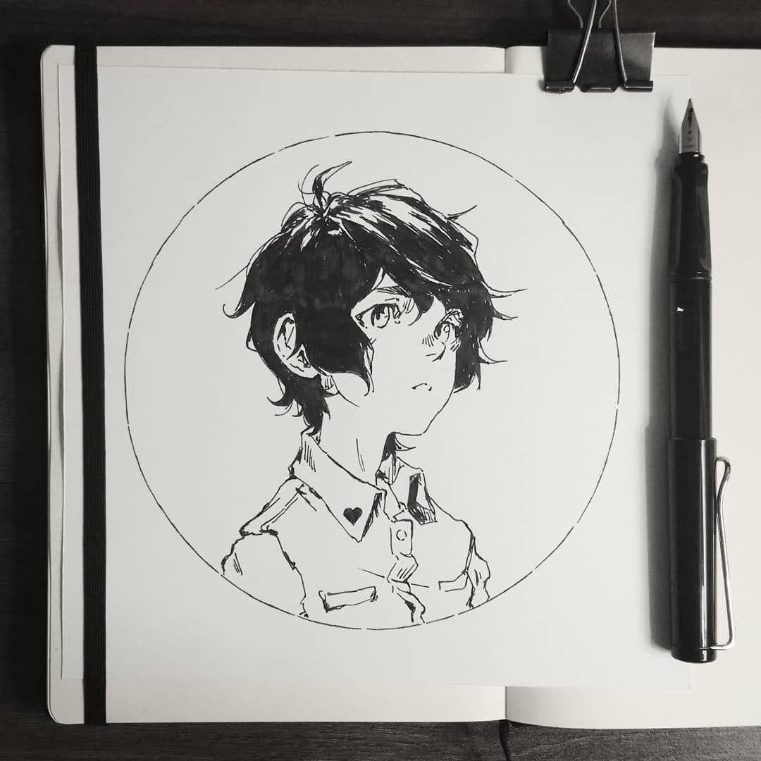 V 0 3 On Instagram Bonus Inktober Tiny Thank You Doodle For Its Pinkuu 3 Paperrosescomic Art Ink Manga Doodl Bw Art Art Inspiration Manga Art