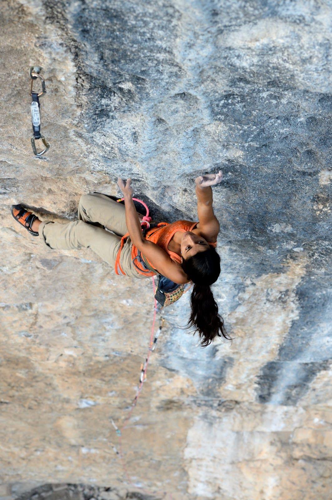 Pin Anastasia Budash Climbing Rock Ice