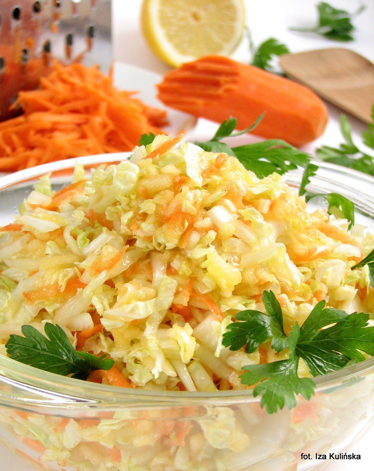 Surowka Z Kapusty Pekinskiej Lagodna Gotowanie Salatki