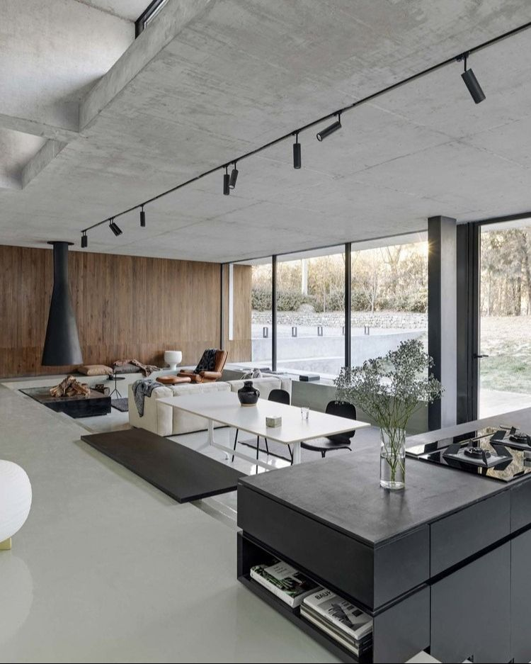 Interior Design Architecture On Instagram House On The Great Wall Designed By Mddm Studio In 2020 Loft Design Modern Bathroom Design Interior Design Inspiration