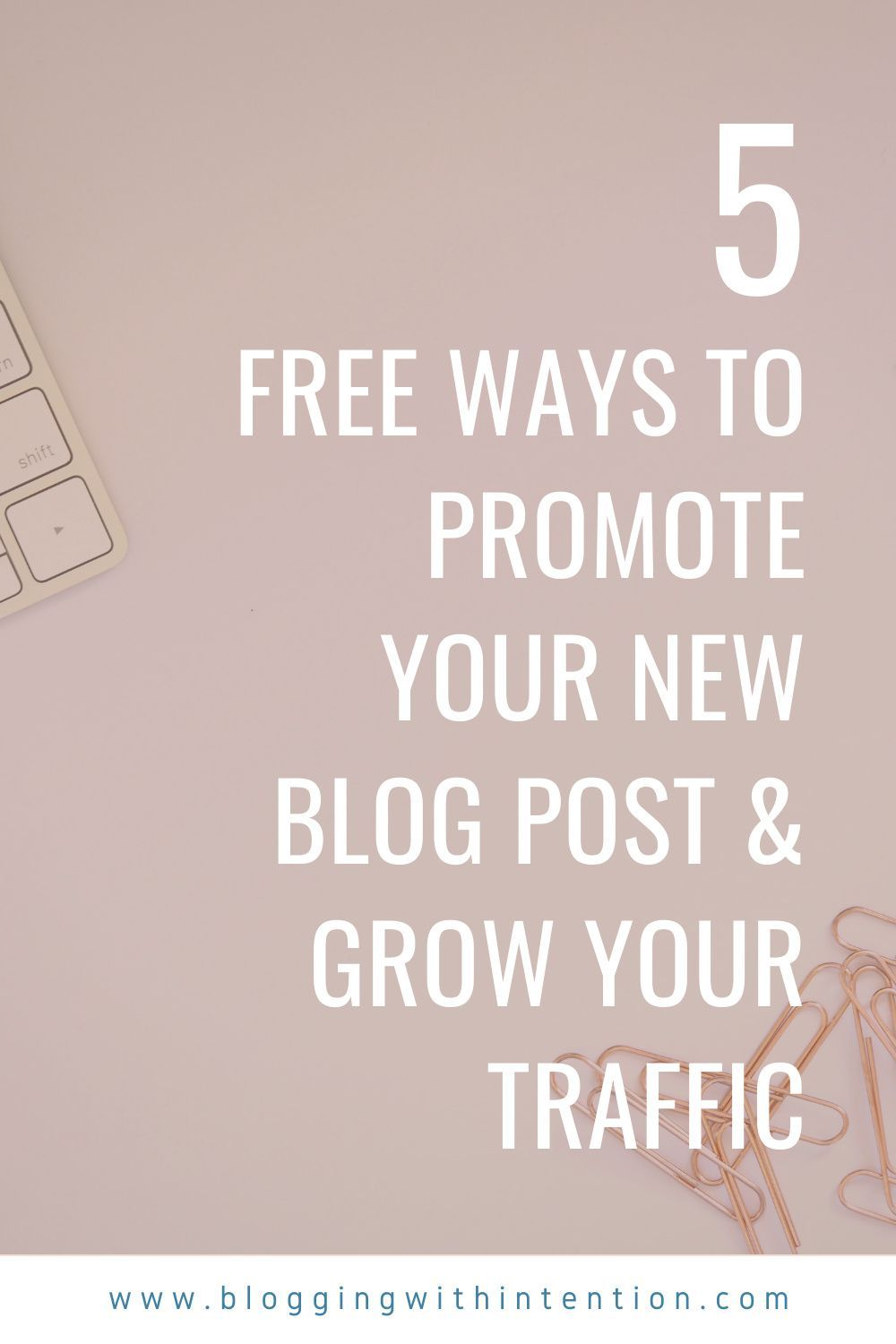 How You Should Be Promoting Your Blog Posts if You're Short on Time   Blogging with Intention