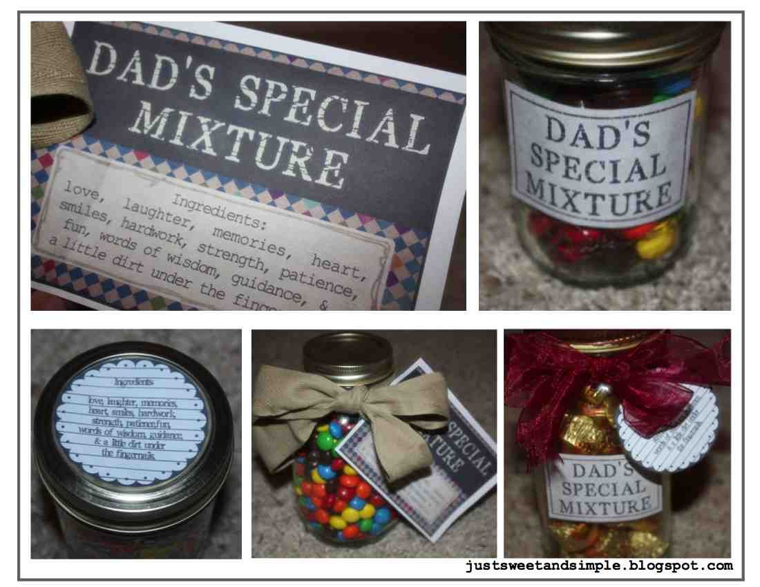 Just Sweet And Simple Father S Day Printables Gift Ideas Fathers Day Gifts Fathers Day Diy Father S Day Gifts Easy