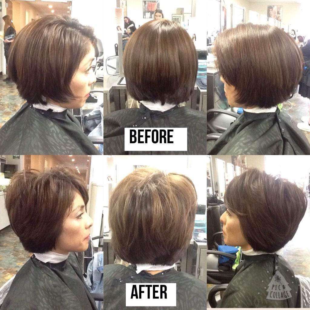fixing haircut with uneven