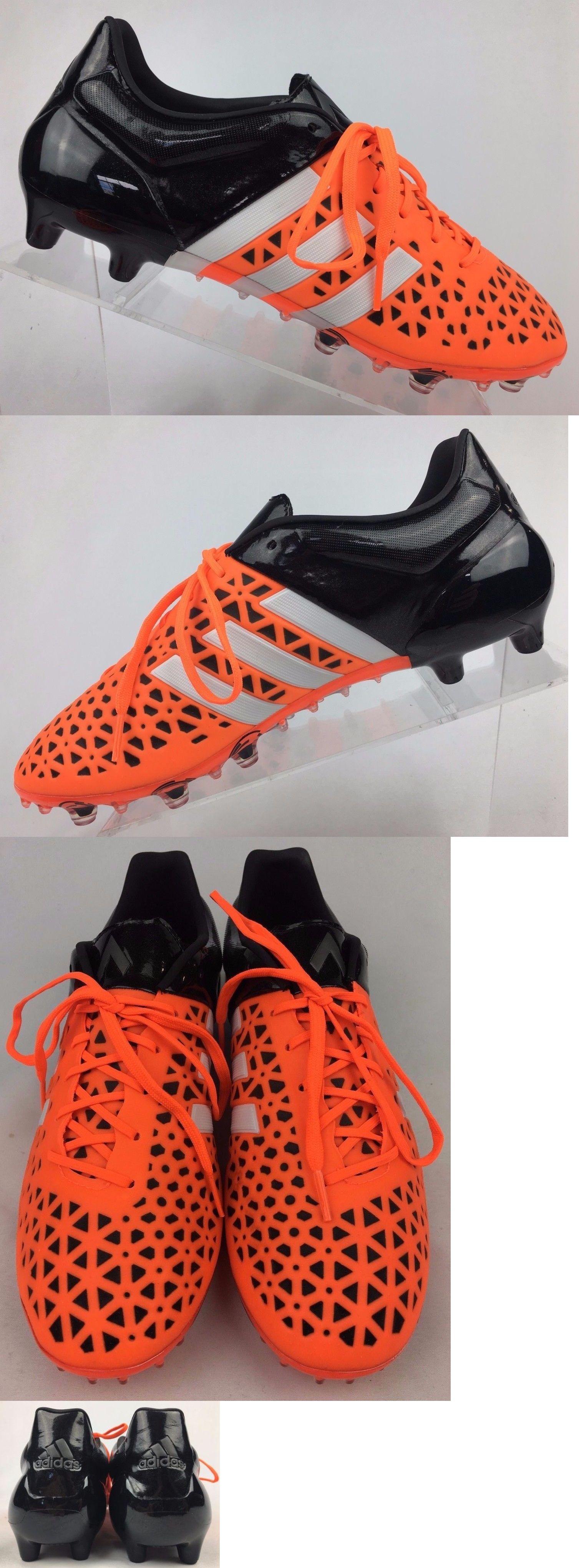 Men 109133  Adidas Ace 15.1 Fg Ag Soccer Cleats Men S Size 9.5 Solar Orange 621df4bbf