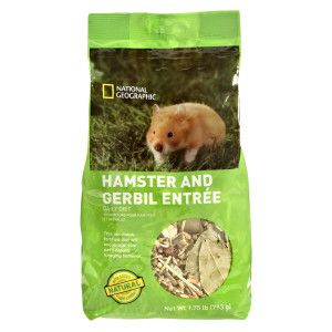 National Geographic Daily Diet Hamster Gerbil Food Food
