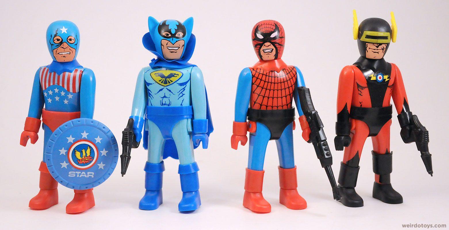 Super Fantastics Bootleg Toys Toy Packaging Vintage Toys