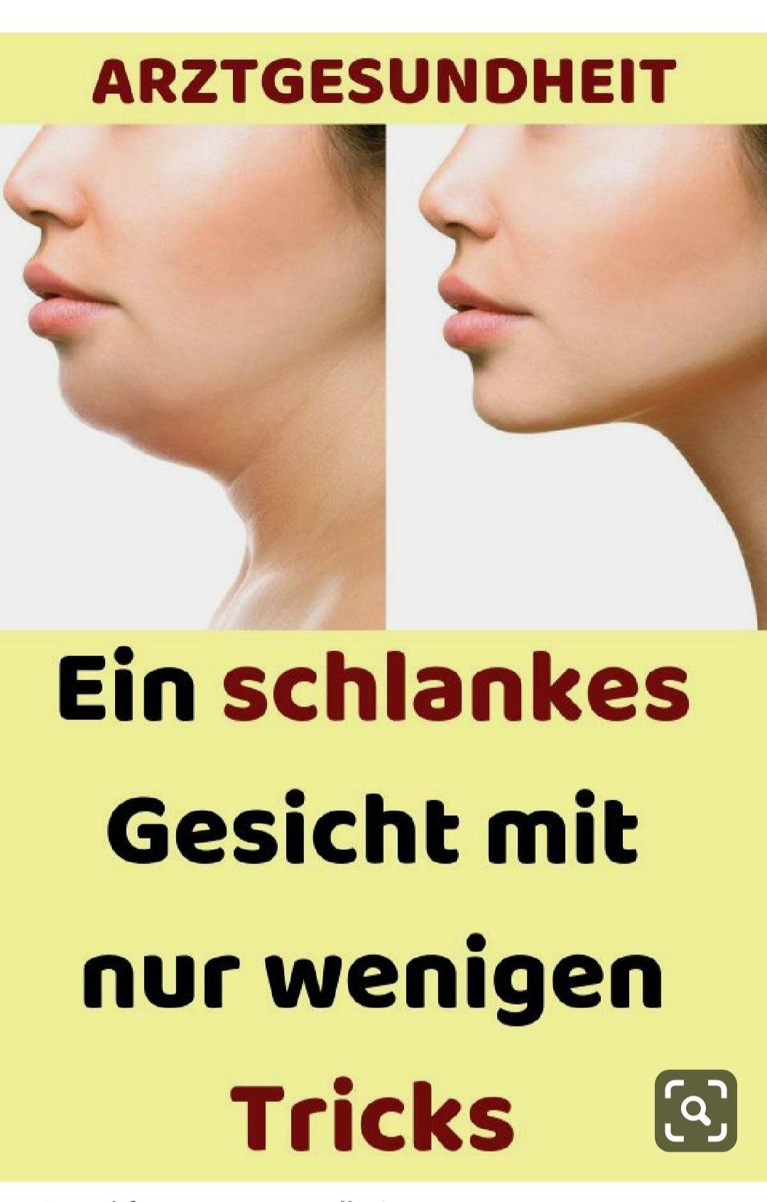 Ein schlankes Gesicht mit nur wenigen Tricks#beauty#yoga#gesund#gesundheit#gesundheitswesen#Ha...