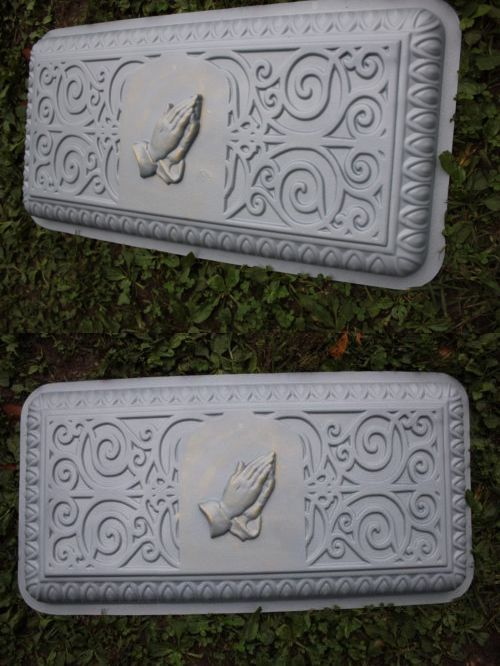 Slip Casting Molds and Kits Praying Hands Concrete Bench Top