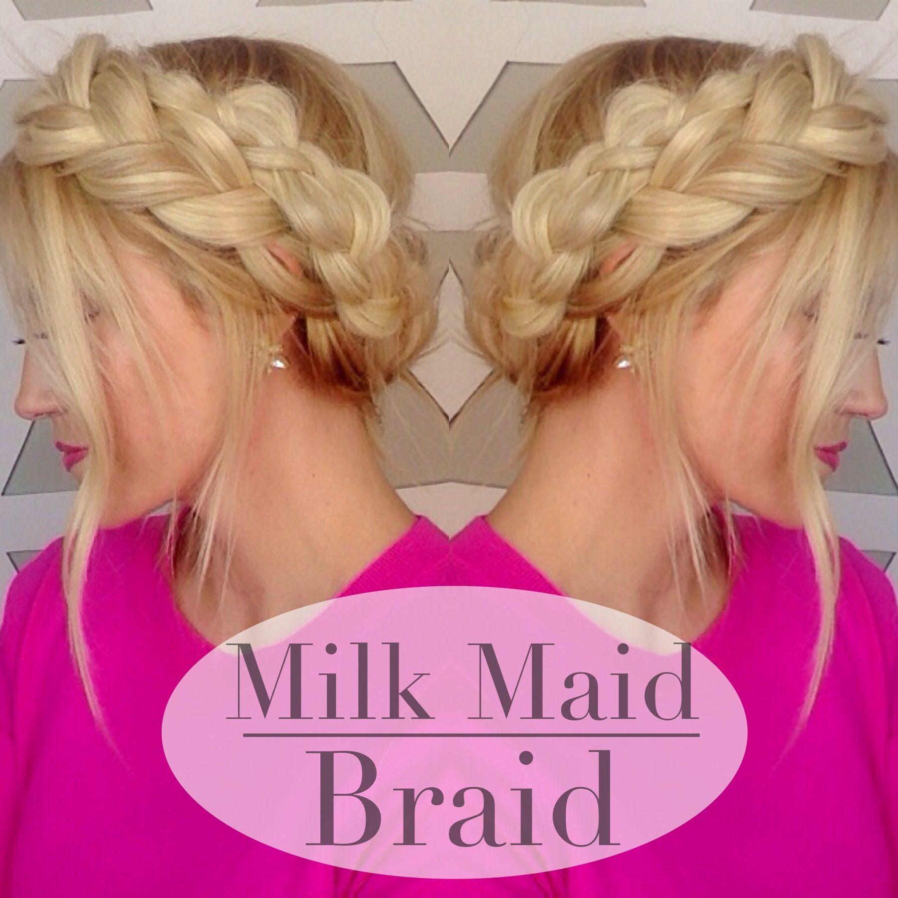 Bohemian Milk Maid Braid Tutorial For Spring 2 Ways To