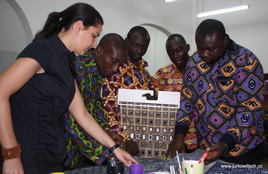 Creativity workshop in Ghana