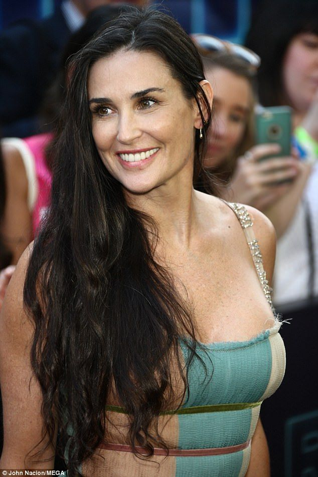 Image result for Demi Moore hair
