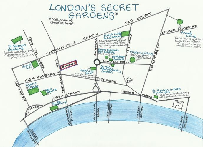 London s secret gardens Travel2London Pinterest