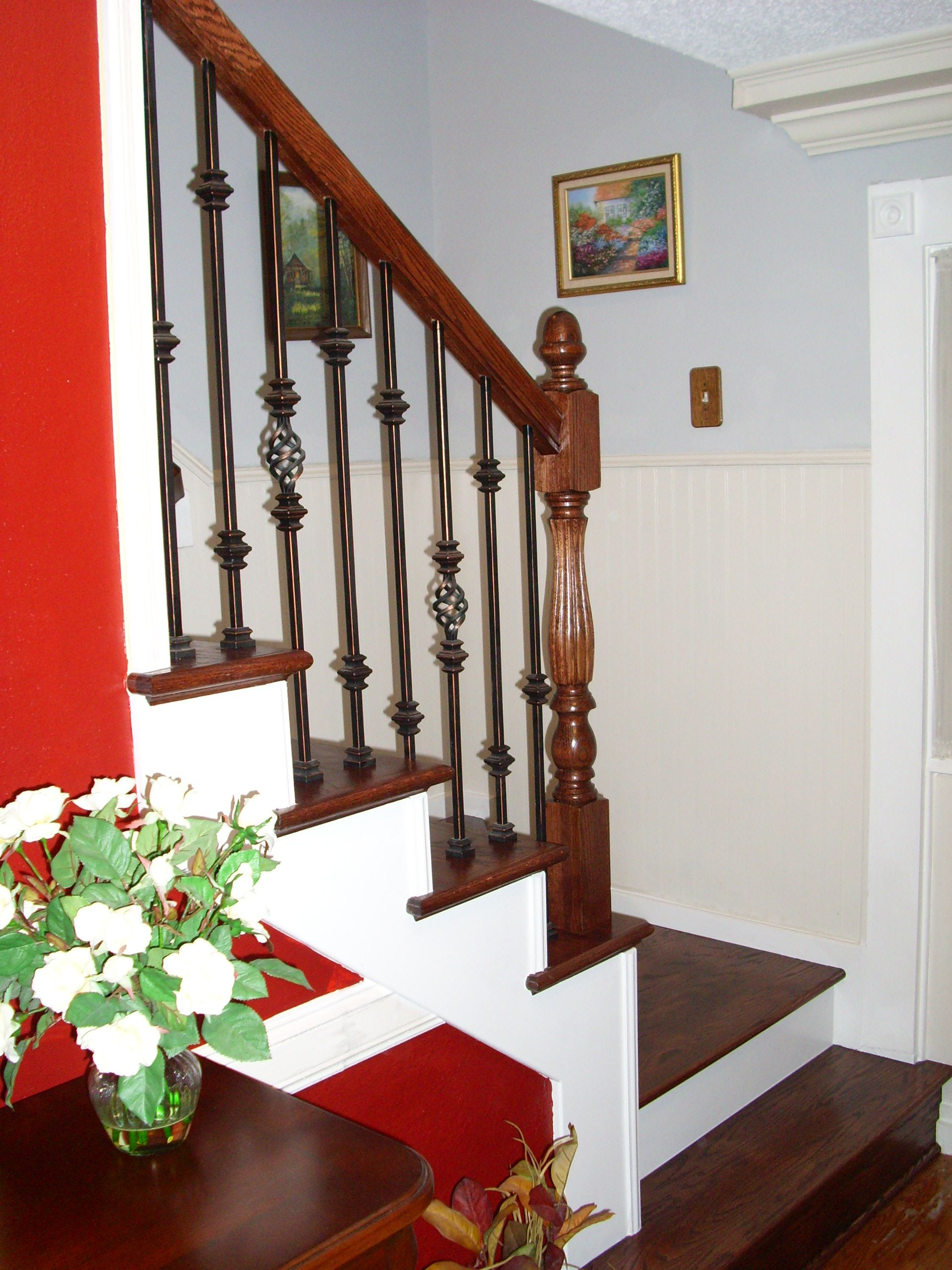 This design was created with Versatile series balusters The single knuckle bar 16 1