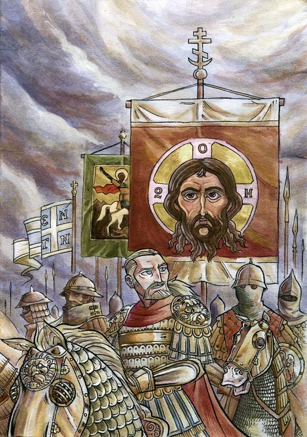 Byzantine General Bardas Phokas by NikosBoukouvalas