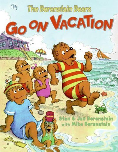 The Berenstain Bears have a wonderful vacation at the seashore, playing on the beach, visiting a museum, eating, and going fishing.