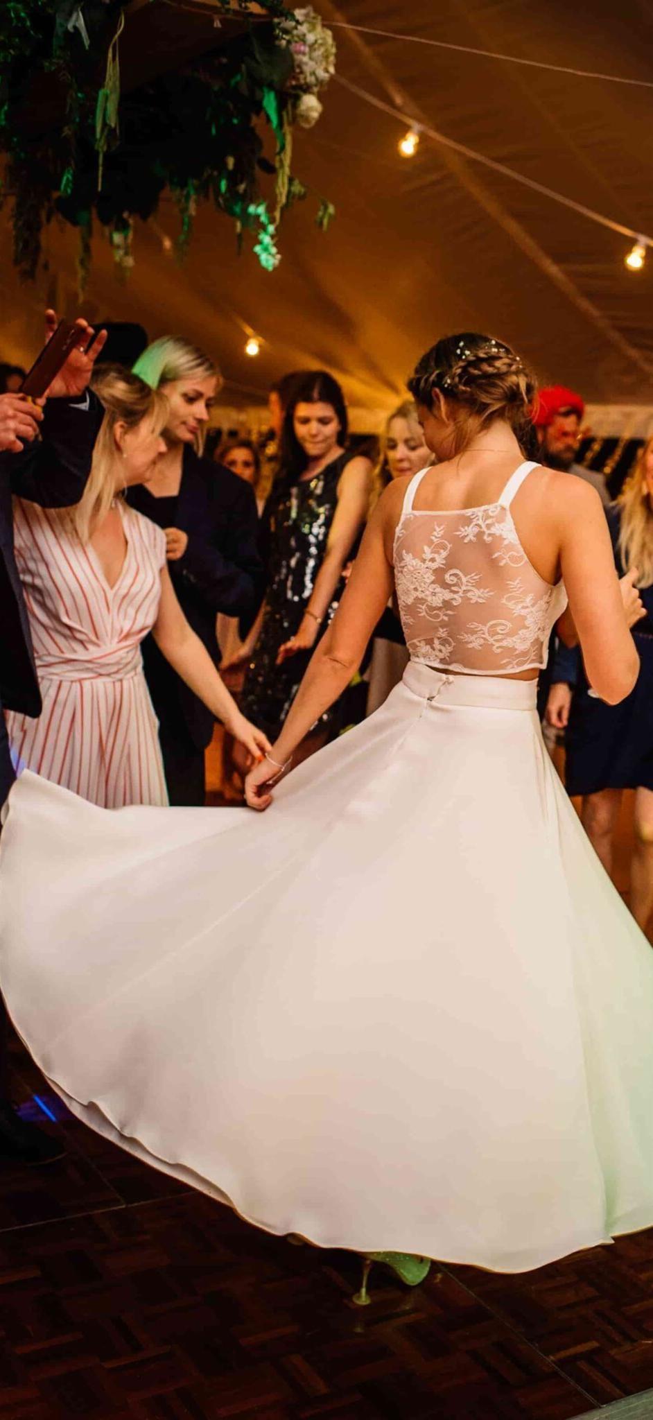 Bride of Ollichon Alex Wedding reception outfit
