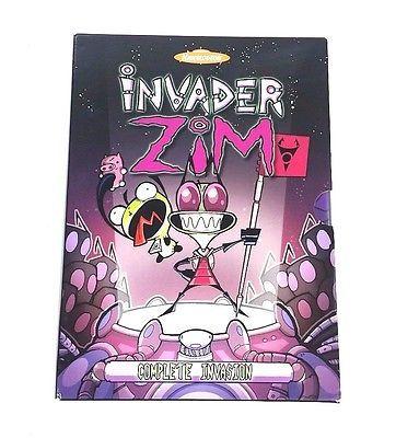 Invader Zim - Complete Invasion - Entire Series, 6-Disc DVD Box Set Volume 1-2-3
