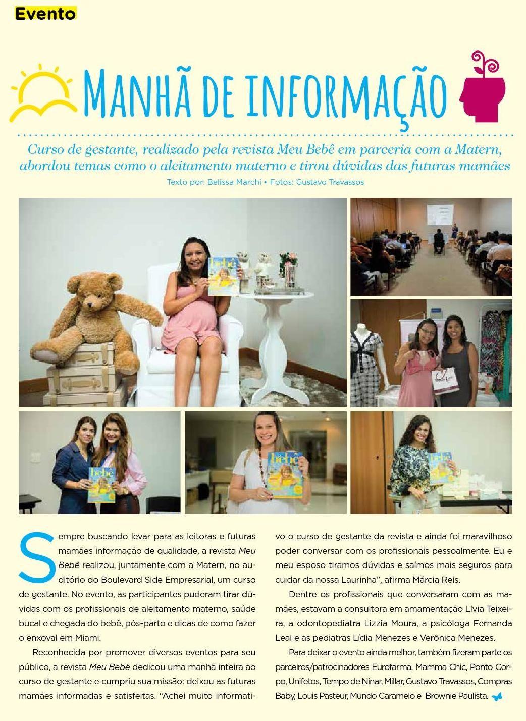#ClippedOnIssuu from Revista Meu Bebê - ed. 06