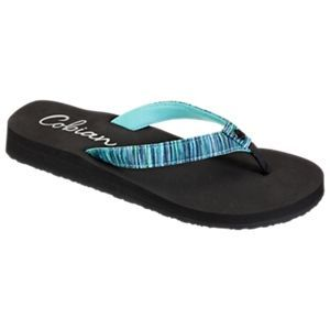 Cobian Fiesta Skinny Bounce Sandals for Ladies - Mint - 10M