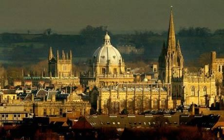 Oxford, England. Awesome architecture.