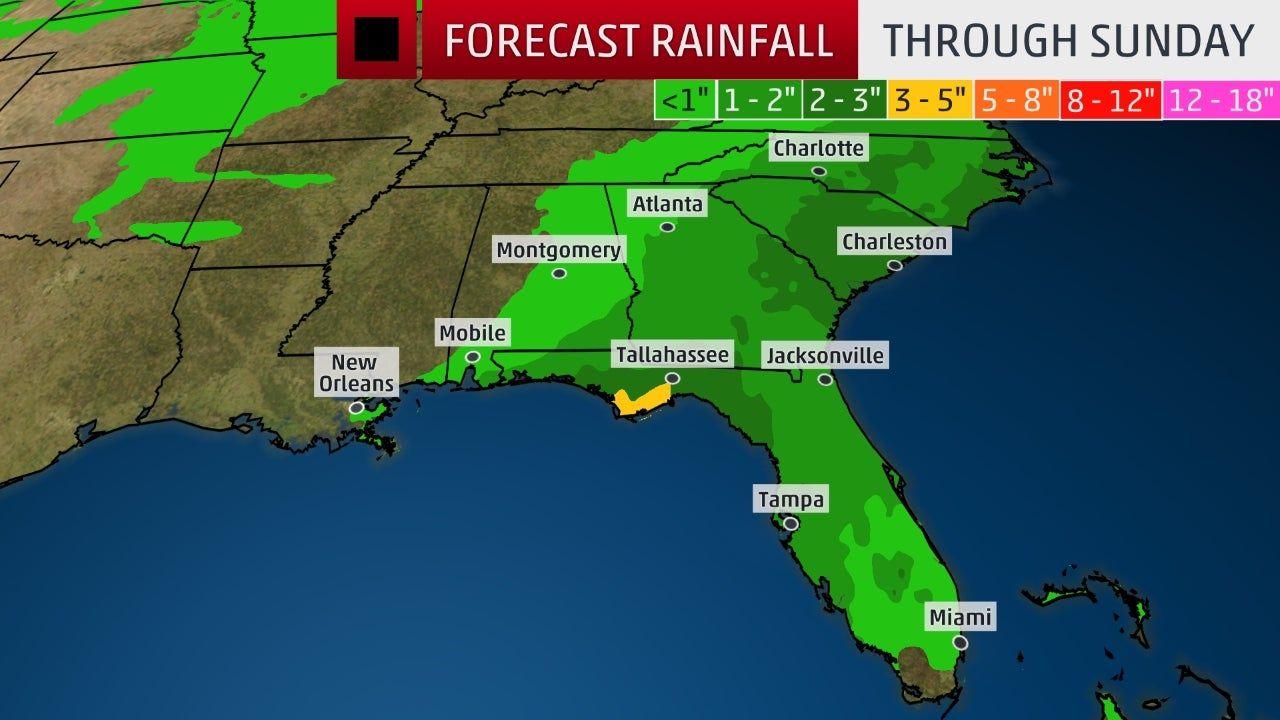 Tropical Storm Nestor Swept Into The Gulf Coast Recap Florida Storm Tropical Storm National Hurricane Center