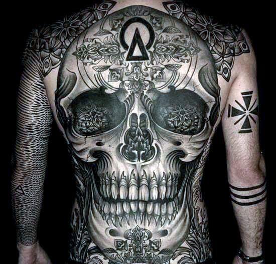 Top 53 Back Tattoo Ideas 2020 Inspiration Guide Skull Tattoo Back Tattoos For Guys Back Tattoo