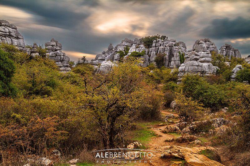 Path through the rocks