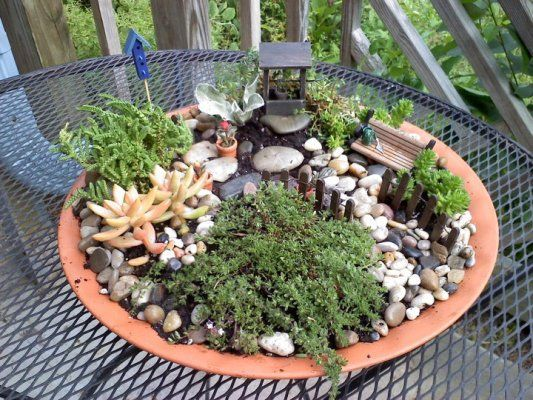 Flea Market Gardening Inspiration Do You Have A Fairy Garden? Here At Flea  Market Gardening, We Like To Make Our Own Accessories And Here Youu0027ll Find  All ...