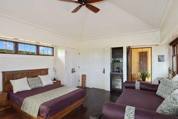 Bali Pavilions on Kauai tropical bedroom