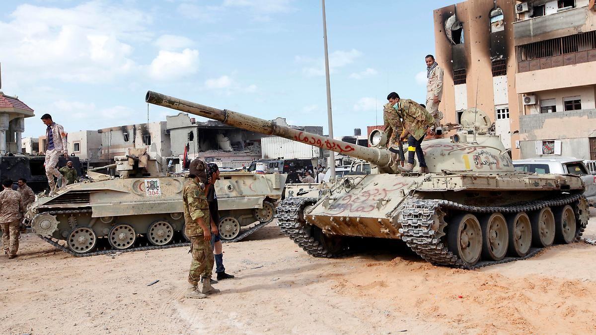 Letztes Bastion in Libyen fällt: Soldaten: IS ist aus Sirte vertrieben
