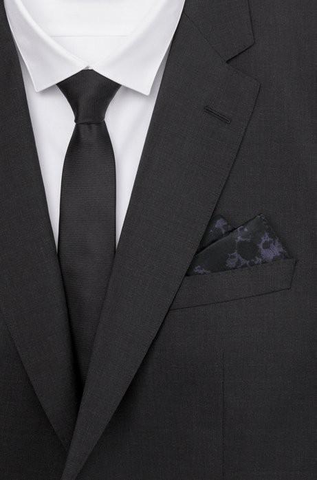40b32e876253 Rorschach Italian Silk Pocket Square by HUGO BOSS | Products ...