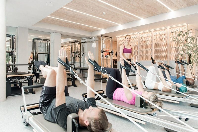 Increase muscle strength with pilates group classes