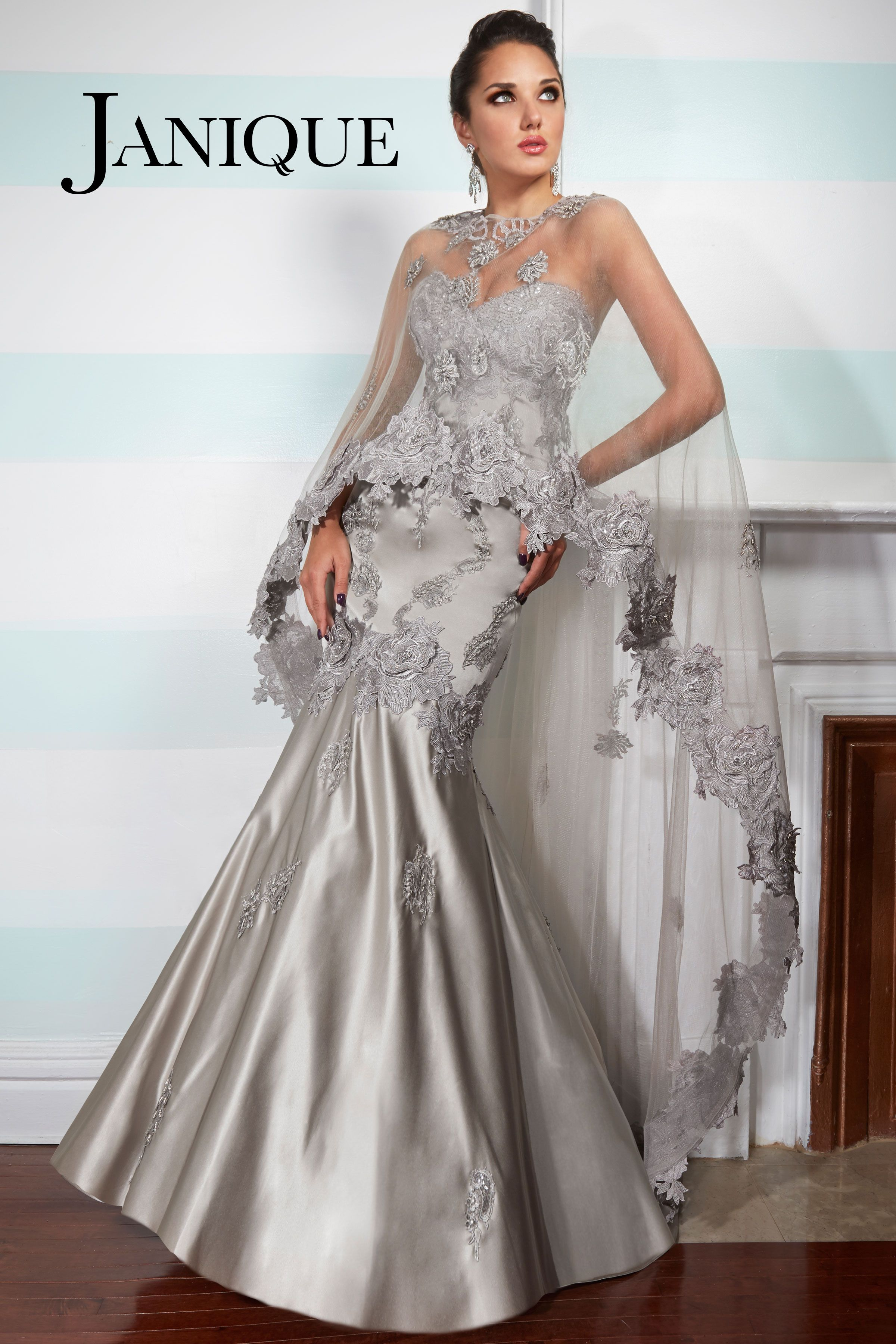 Janique JQ3412 2015 Collection. This dress is embellished
